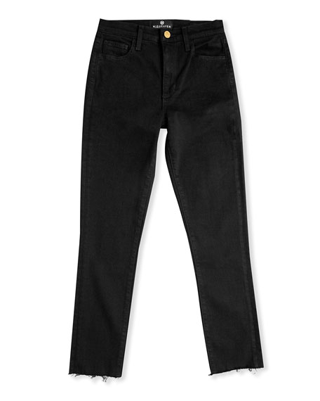 Midheaven Denim Reign Skinny Jeans with Chewed Hem