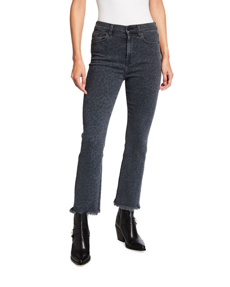 7 for all mankind High-Waist Slim Kick Jeans