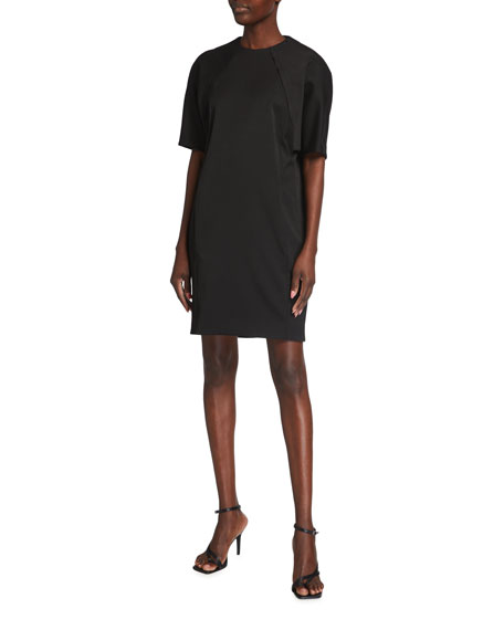 Victoria Victoria Beckham Recycled Cocoon Short-Sleeve Dress