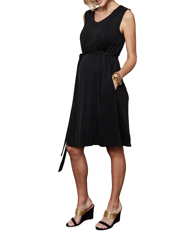 Maternity Vivian Sleeveless Dress