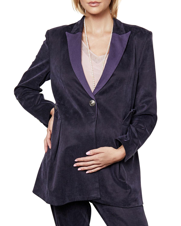 Maternity Victoria Single-Breasted Blazer