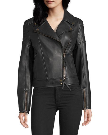 Robert Graham Monroe Leather Biker Jacket