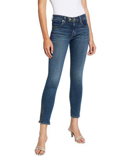 Ramy Brook Kate Cropped Skinny Jeans