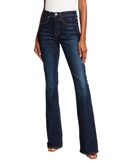 Veronica Beard Jeans Beverly High-Rise Flare Jeans