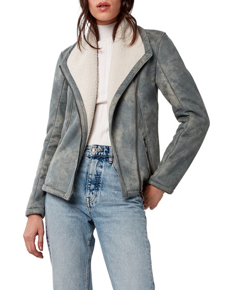 ASTARS Savannah Vegan Shearling Jacket