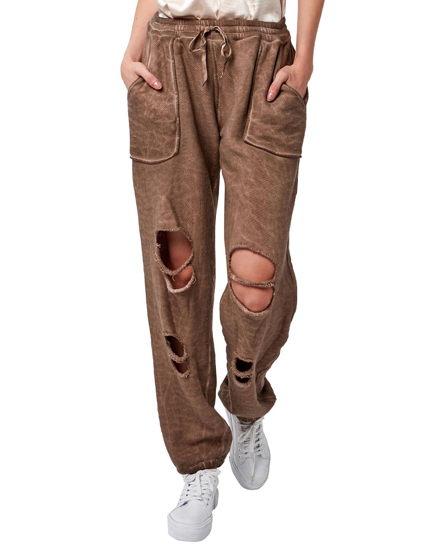 Heist Distressed Easy Pants