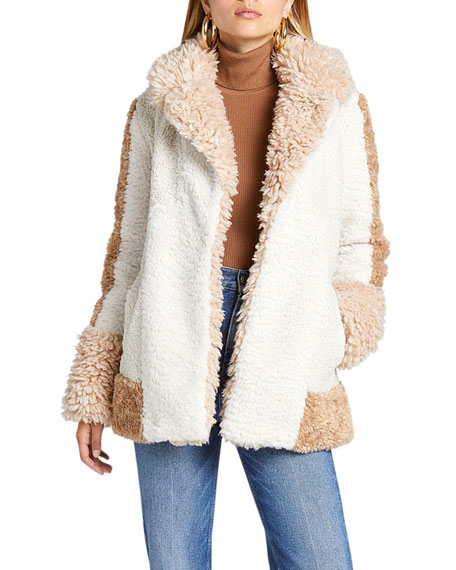 A.L.C. Stan Short Faux-Fur Coat