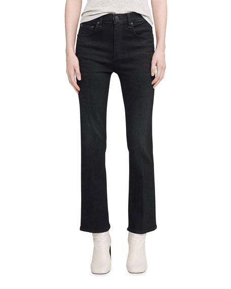 Rag & Bone Hana High-Rise Flared Jeans