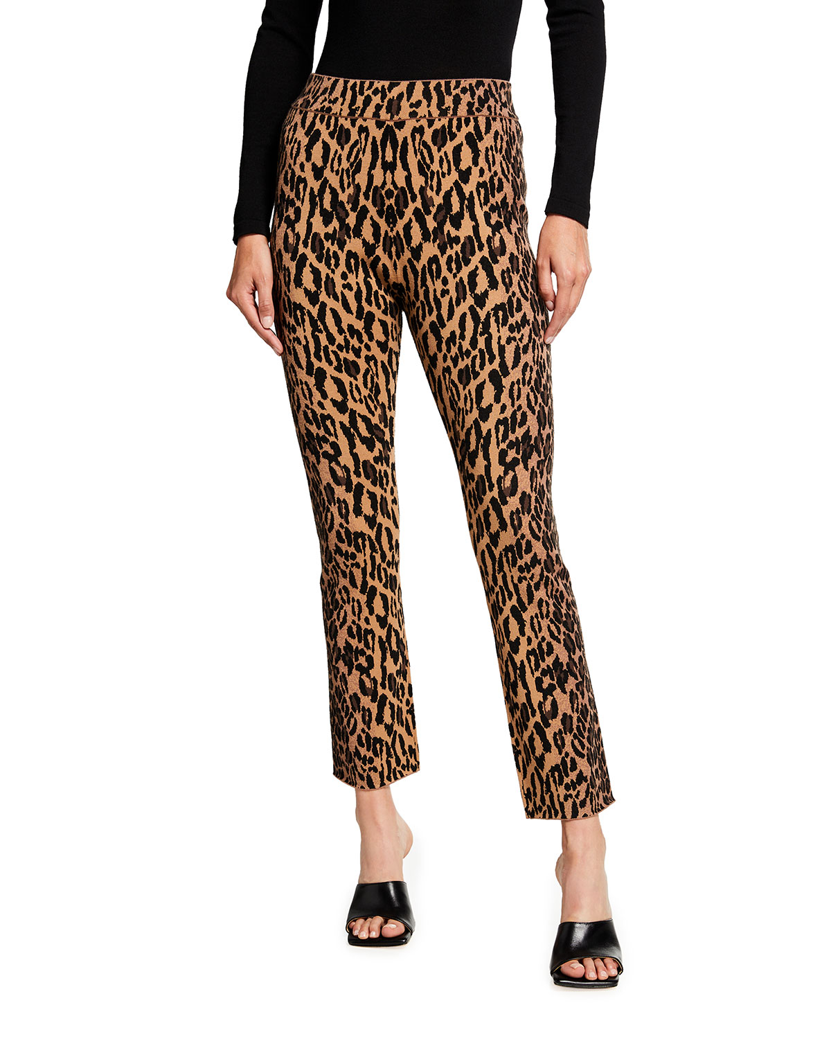Kyrie Viscose Cropped Pants