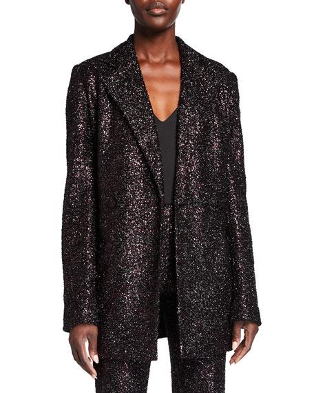 Badgley Mischka Collection Sequin Jacket