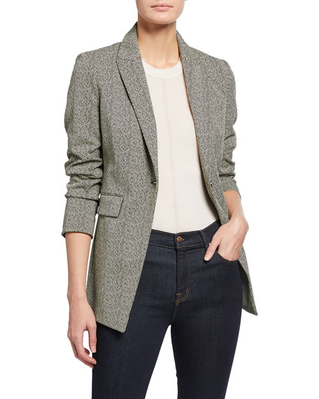 Theory Etiennette Harrow Knit Blazer