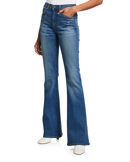 Veronica Beard Jeans Gemma Mid-Rise Jeans