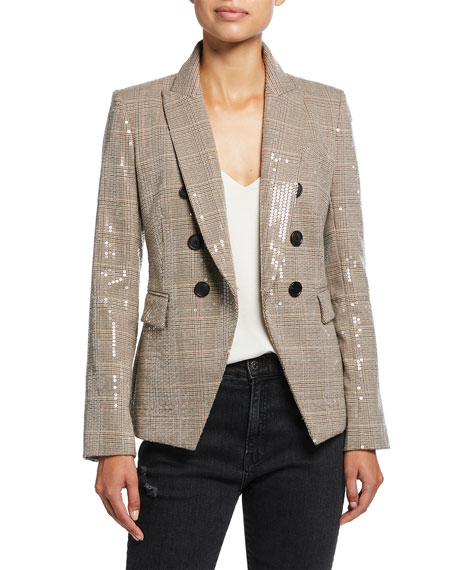 Veronica Beard Miller Sequined Dickey Jacket