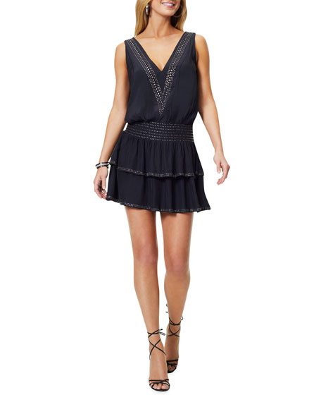Ramy Brook Carlyle Embellished Mini Dress