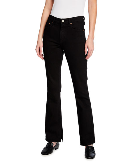 TRAVE Faye Boot-Cut Jeans with Slit Hem