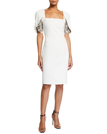 Diane vonFurstenberg Jersey Patio Dress -  Sleeveless -  Neiman Marcus