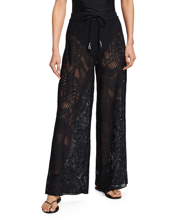 Cape Cod Coverup Lace Pants
