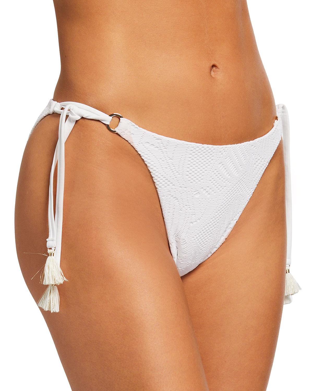 Malibu Palm Lace String Bikini Bottom