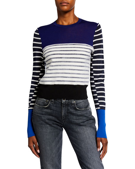Rag & Bone Marissa Blocked Striped Sweater