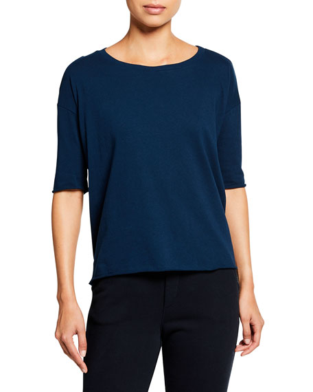 Frank & Eileen Tee Lab French Scoop-Neck Tee