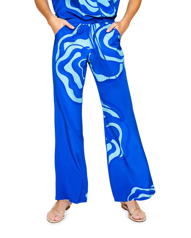 Jaline LISA PRINTED LOUNGE PANTS