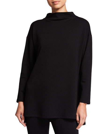 Eileen Fisher Cozy Brushed Terry Tunic