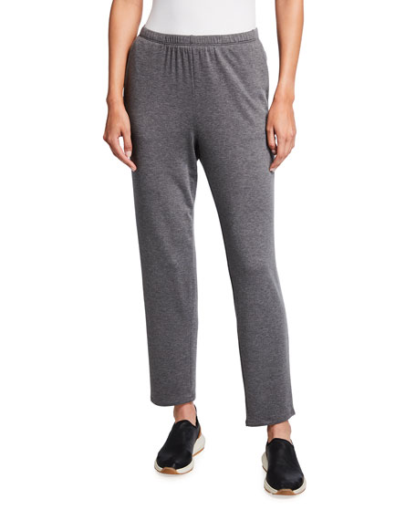 Eileen Fisher Stretch Terry Tapered Ankle Pant