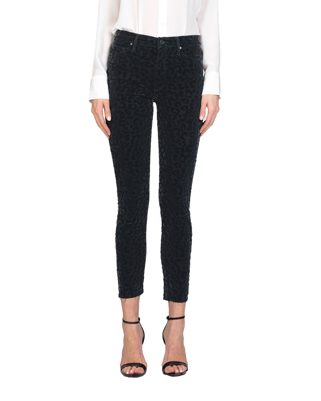 Carmen High-Rise Ankle Fray Jeans