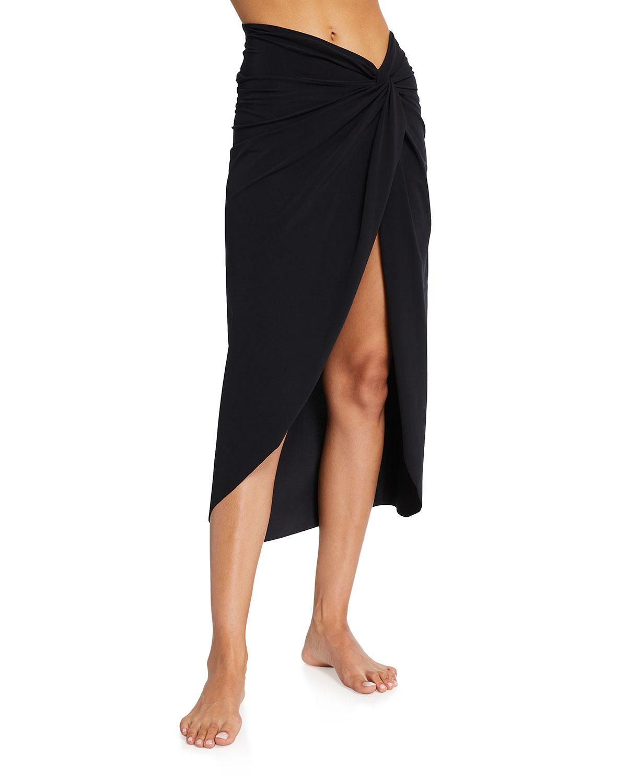 Aza Midi Coverup Skirt