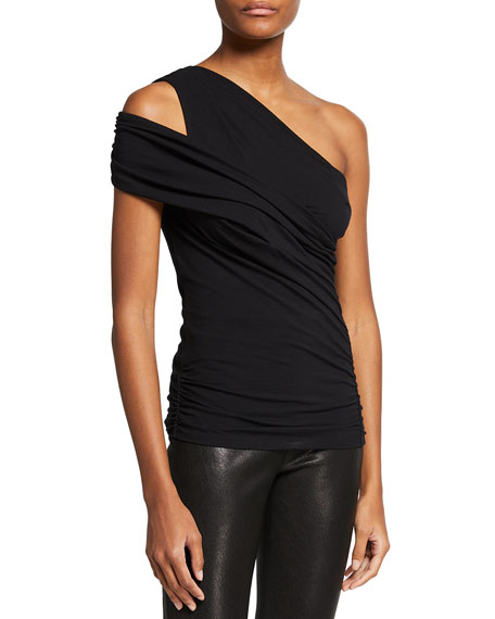 Iro Billin One-Shoulder Top