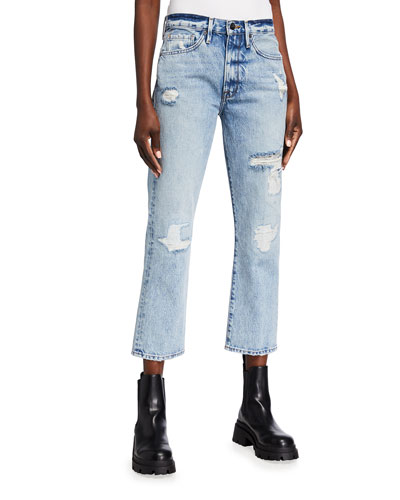 New Look Girls Blake Extreme Rip Jeans