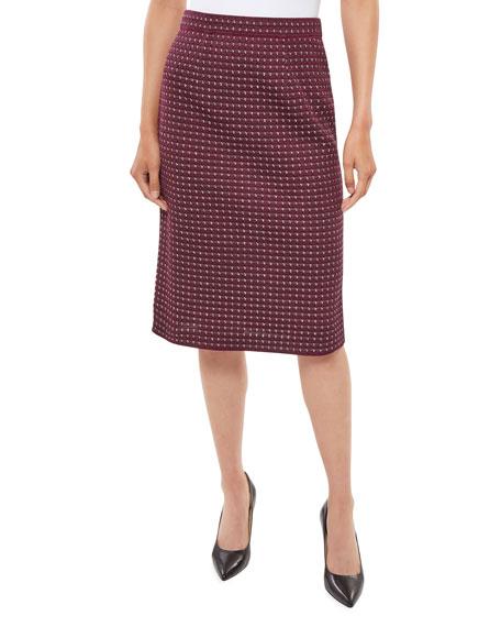Misook Tweed Knit Pencil Skirt