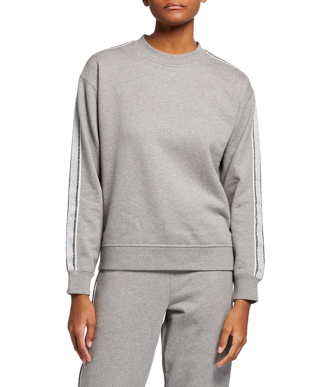 Aila Sweatshirt with Side Stripes