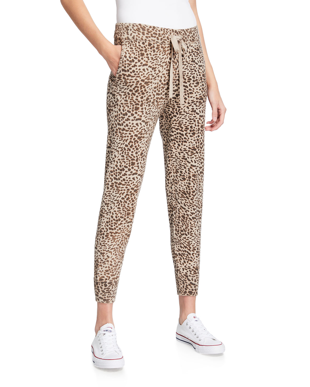 Mini Leopard Sporty Sweatpants