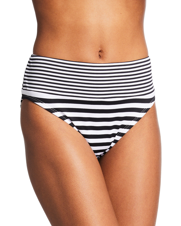 Breaker Bay High-Waist Bikini Bottoms