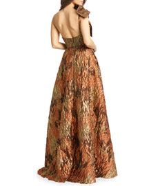 Marc Bouwer Glamit! Ombre Halter Gown -  Neiman Marcus :  chic collection couture gown