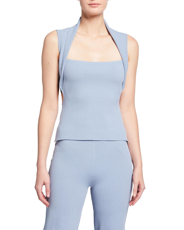 Nanushka Clothing NAIA KNITTED CUTOUT TOP