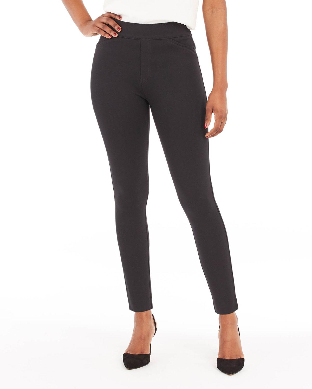 The Perfect Black Back-Seam Skinny Pants