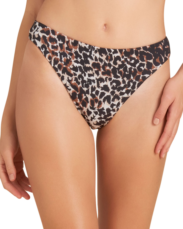 Marau Leopard Print Bikini Swim Bottom
