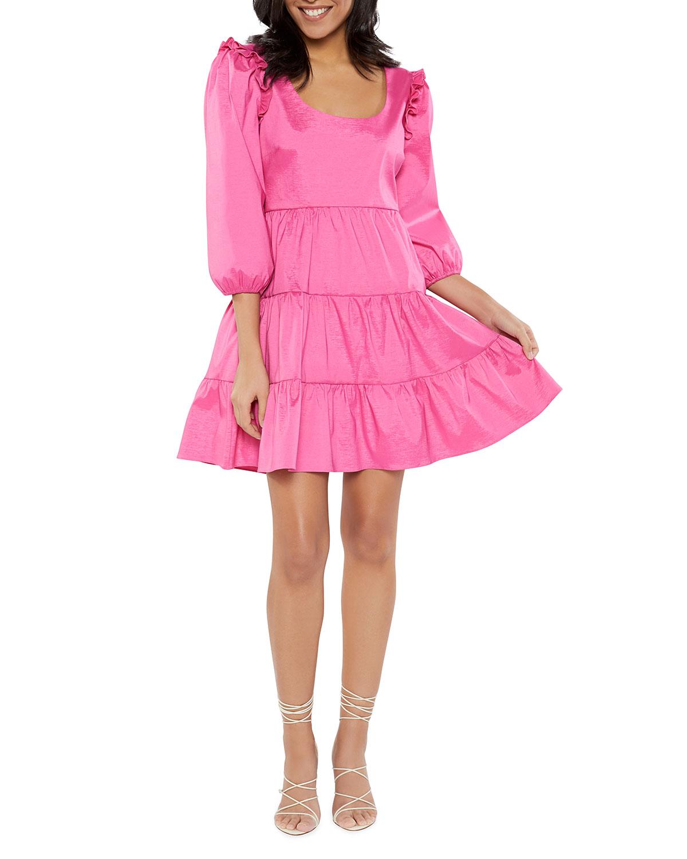 Likely Mini dresses AVENA TIERED MINI DRESS