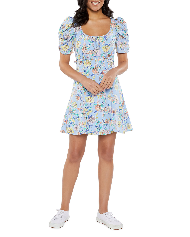 Lana Mini Floral Dress