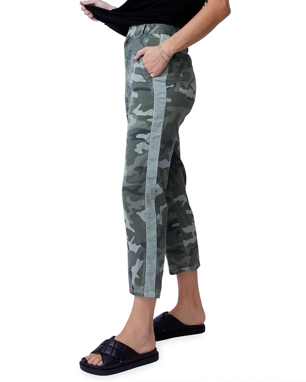 Urban Camo Straight-Leg Pants