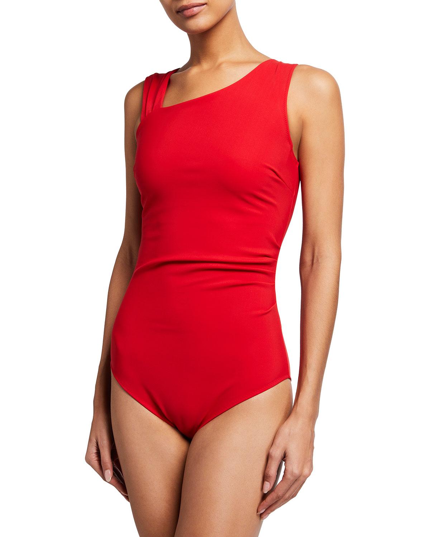 Benedikte Asymmetric One-Piece Swimsuit