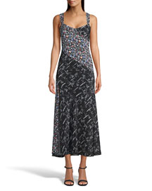 Notte by Marchesa Chiffon Draped Dress -  Dresses -  Neiman Marcus