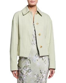 D&G Dolce & Gabbana            Tie-Neck Blouse-  Romantic Blouses-Neiman Marcus