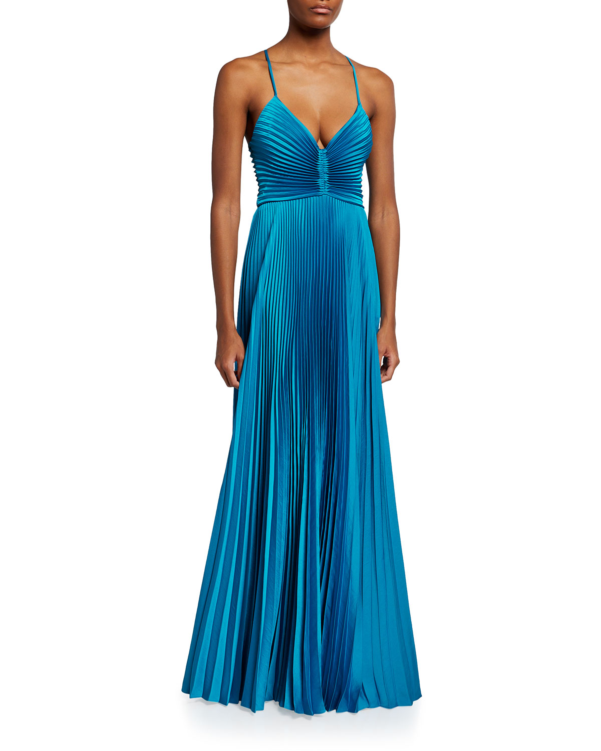 A.l.c ARIES PLEATED GOWN