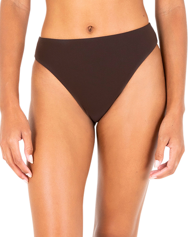 The Midi High-Cut Bikini Bottom