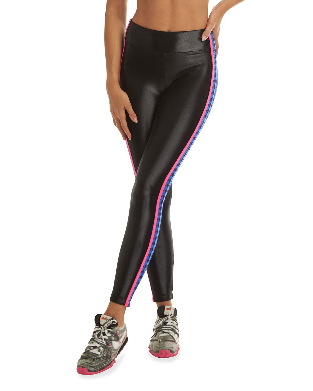 Trainer High-Rise Side-Stripe Leggings