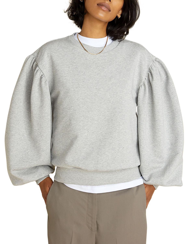 Larice Puff-Sleeve Sweatshirt