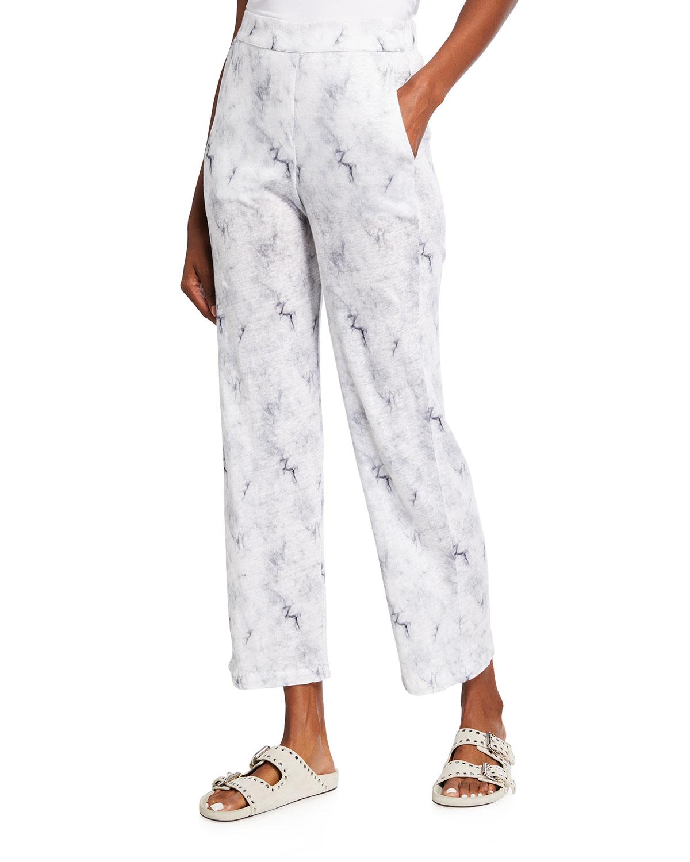 Cloud Linen Pull-On Pants